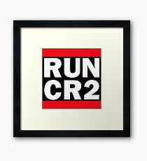 RUN CR2 - Canon Camera Raw Framed Print