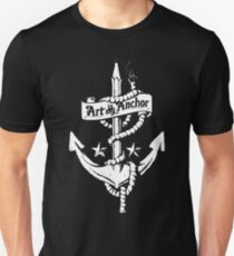 Art is my Anchor funny t-shirt T-Shirt
