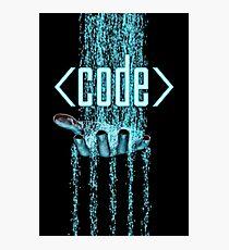 Lámina fotográfica Código
