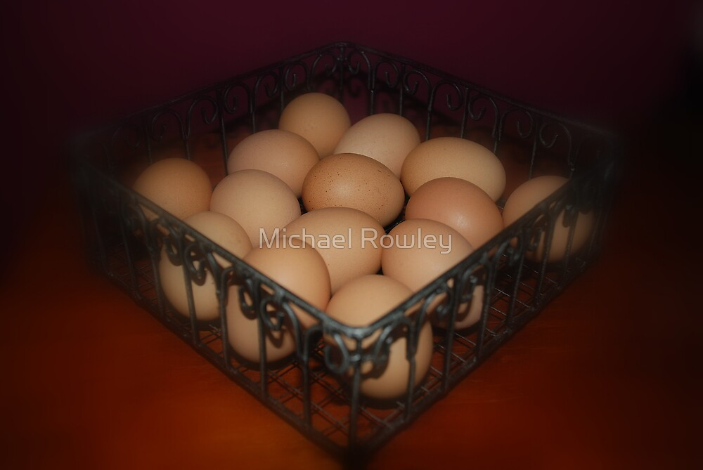 All My Eggs In One Basket by Michael Rowley