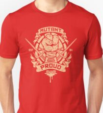 Mutant and Proud! (Raph) Slim Fit T-Shirt