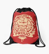Mutant and Proud! (Raph) Drawstring Bag