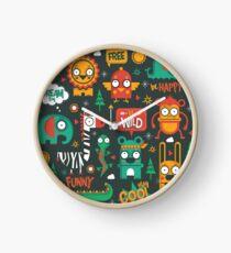 Woodland Animals Clock