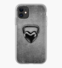 Vinilo o funda para iPhone Corazón de Kettlebell
