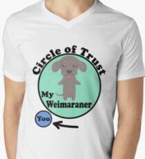 Weimaraner Men's V-Neck T-Shirt