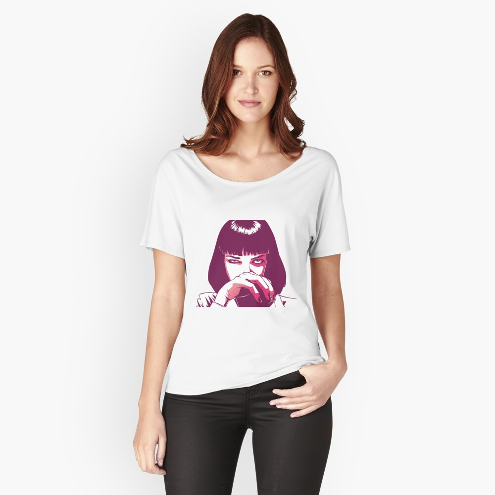 Mia Wallace Loose Fit T-Shirt