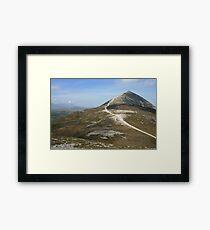 Croagh Patrick mountain Framed Print