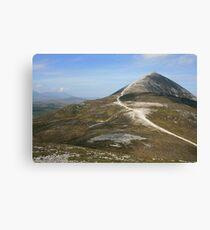 Croagh Patrick mountain Canvas Print