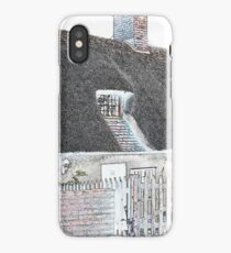 Thatched Cottage in Unique Design iPhone Case/Skin