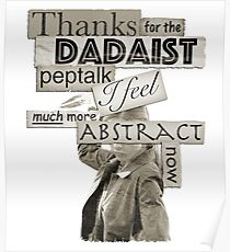 Dadaist Peptalk - Buffy Poster