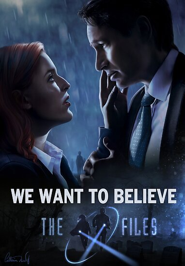 The X-files Poster s11 by Chimerart