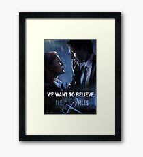 The X-files Poster s11 Framed Print