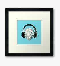 Mind Music Connection Framed Print