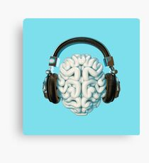 Mind Music Connection Canvas Print
