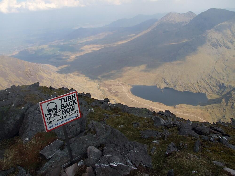 Carrauntoohil summit view by John Quinn