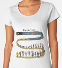 evolution Women's Premium T-Shirt