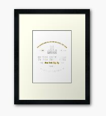 911 Never Forget - September 11 Vintage  Framed Print