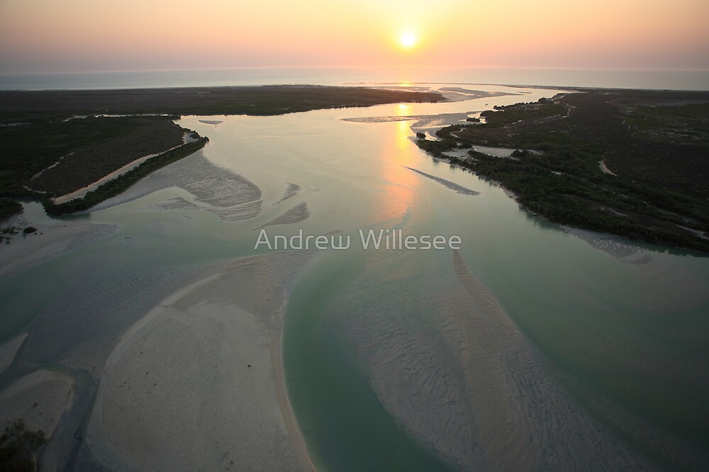 Willie Creek - Broome  by Andrew Willesee