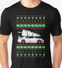 Weihnachten Nissan GTR R34 Slim Fit T-Shirt