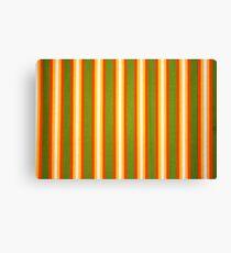 Retro Stripe Canvas Print