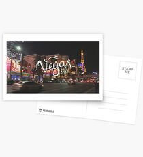 Vegas Baby!  Postcards