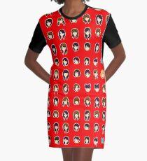 Morning Musume 1997-2017 Graphic T-Shirt Dress
