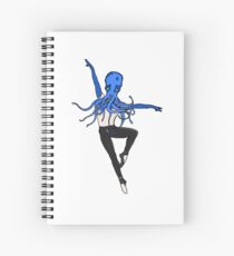 Animal : Octopus ballet dancer ! Spiral Notebook