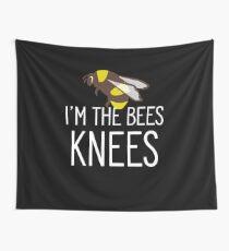 Ich bin die Knie der Biene Lustiger Bienen-Liebhaber-Honig Beekeeper Wandbehang