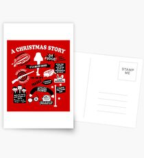 Christmas Story Quotes Postcards
