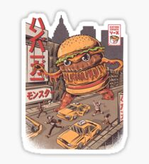 BurgerZilla Sticker