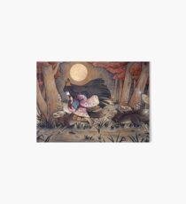 Running With Monsters - Kitsune Fox Yokai  Art Board