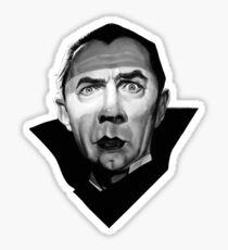 Dracula Bela Lugosi Satire Sticker
