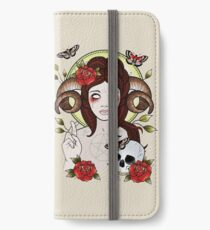 Pagan Goddess iPhone Wallet/Case/Skin