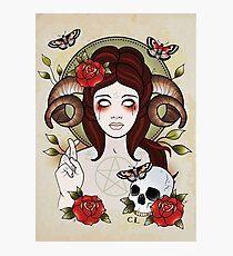 Pagan Goddess Photographic Print