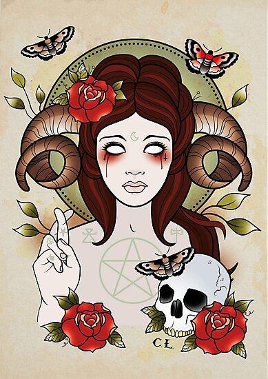 Pagan Goddess by Cale Lobba