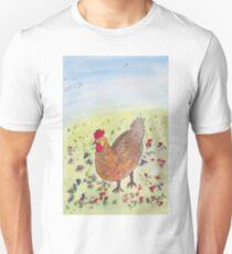 Egg laying Hen Unisex T-Shirt