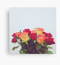 Rosy and Bright Canvas Print