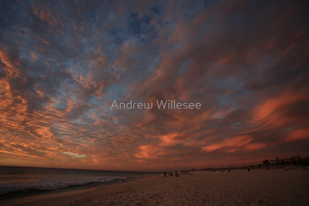 West Coast Sunset by Andrew Willesee