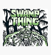 Swamp Thing gameboy Photographic Print