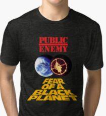 p.e. fear of a black planet Tri-blend T-Shirt