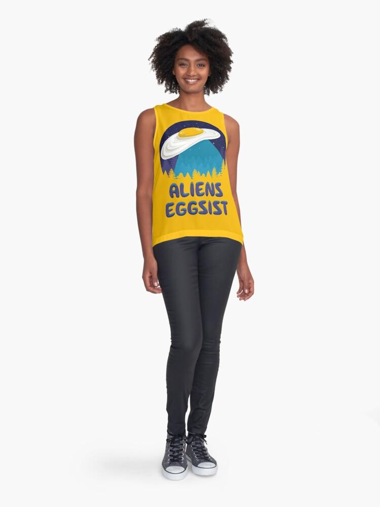 Alternate view of Aliens Eggsist Sleeveless Top