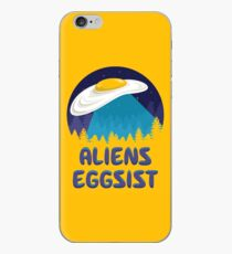Aliens Eggsist iPhone Case