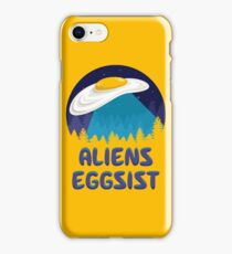 Aliens Eggsist iPhone Case/Skin