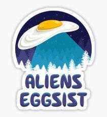 Aliens Eggsist Sticker