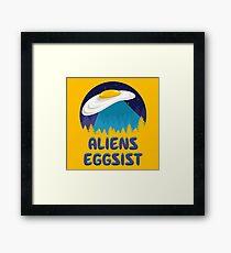 Aliens Eggsist Framed Print