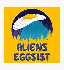 Aliens Eggsist Photographic Print