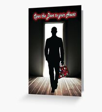 Northern Soul Open the Door to your Heart Greeting Card