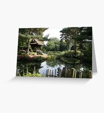 Japanese Garden (Tatton Park, UK) Greeting Card