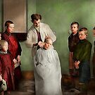Barber - Haircut Day 1918 by Michael Savad