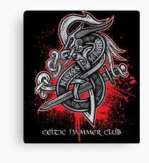 Dragon Slayer (Grey) Canvas Print